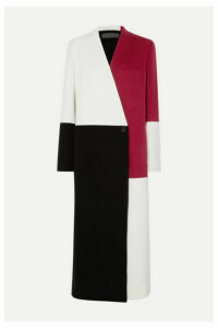 Haider Ackermann - Color-block Wool And Cashmere-blend Coat - White