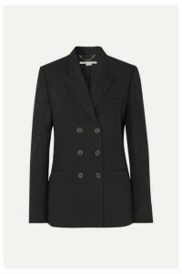 Stella McCartney - Double-breasted Wool-twill Blazer - Black