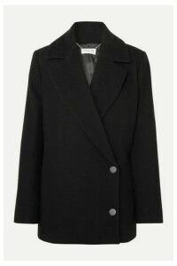 By Malene Birger - Melinnda Wool-blend Twill Coat - Black