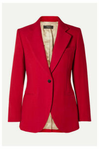 Theory - Cotton-twill Blazer - Red