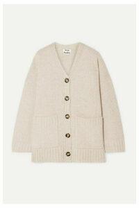 Acne Studios - Kanita Oversized Wool-blend Cardigan - Beige