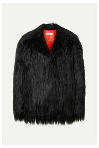 Philosophy di Lorenzo Serafini - Faux Fur Coat - Black