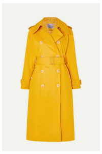 ALEXACHUNG - Cotton-gabardine Trench Coat - Mustard