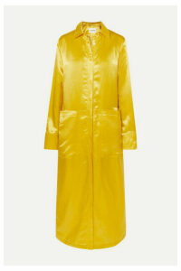 Jil Sander - Satin Maxi Dress - Yellow