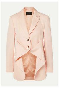 Cédric Charlier - Wool-twill Blazer - Pastel pink