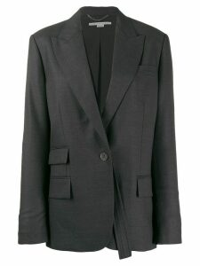 Stella McCartney single breasted blazer - Grey