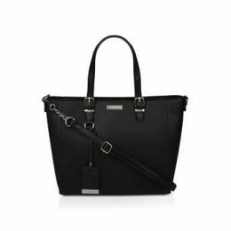 Carvela Fina Winged Tote - Black Tote Bag