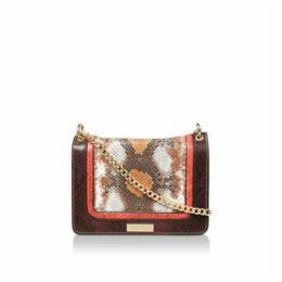 Carvela Flo Multi Snake Xbody - Multi-Coloured Snake Print Shoulder Bag