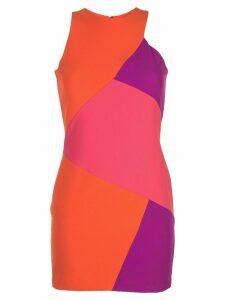 Nicole Miller panelled mini dress - Pink