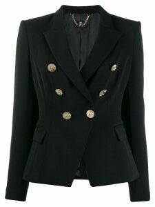Elisabetta Franchi double breasted blazer - Black