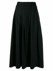 A.F.Vandevorst a-line midi skirt - Black