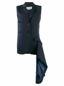 Monse deconstructed waistcoat - Blue