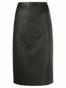 Joseph fitted midi skirt - Grey