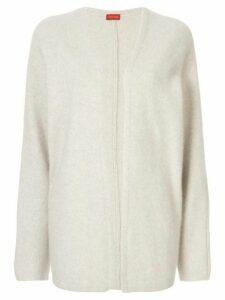 Des Prés open front cardigan - White