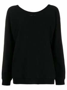 Barbara Bui cashmere round neck jumper - Black