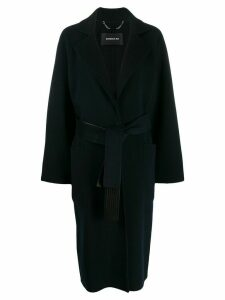 Barbara Bui belted mid-length coat - Blue