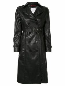 Loveless belted trench coat - Black