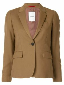 Loveless single-breasted blazer - Brown