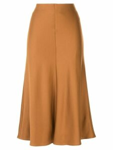 Loveless A-line midi skirt - Brown