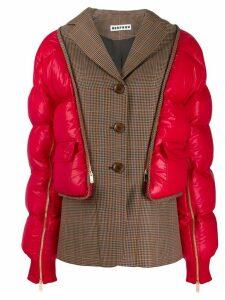 BESFXXK padded sleeve blazer - Red