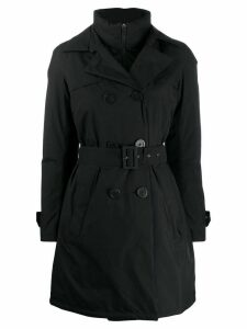 Herno padded trench coat - Black