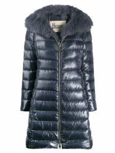 Herno Iconic Elisa padded coat - Blue