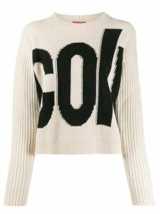 colville intarsia-knit jumper - Neutrals
