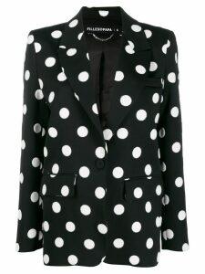 Filles A Papa polka-dot blazer - Black