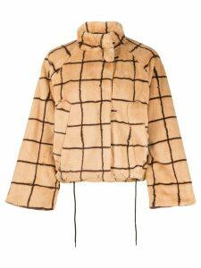 Baum Und Pferdgarten graphic print jacket - Brown
