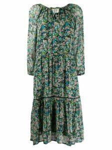 Cecilie Copenhagen Stine floral print dress - Blue
