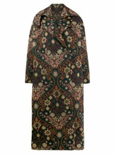 Preen By Thornton Bregazzi all-over print coat - Multicolour