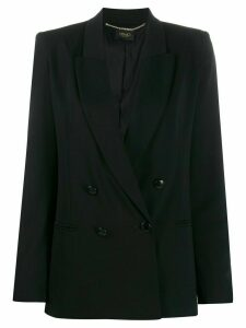LIU JO double-breasted blazer - Black