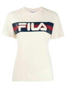 Fila logo print T-shirt - Neutrals