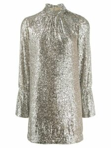 Zadig & Voltaire Fashion Show D Rumer sequin dress - Neutrals
