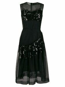 Simone Rocha bustier full dress - Black