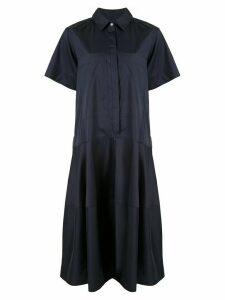 Lee Mathews Elsie shirt dress - Blue