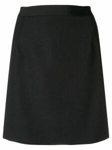 Alessandra Rich fitted mini skirt - Black