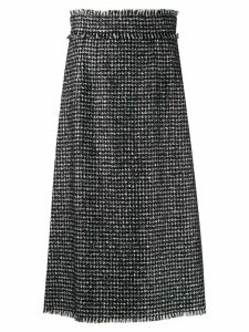Dolce & Gabbana houndstooth skirt - Black