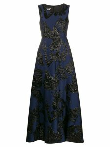 Boutique Moschino A-line evening dress - Blue