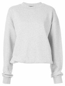 Alexander Wang loose-fit Terry sweatshirt - Grey