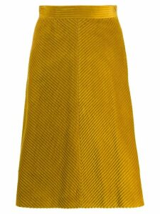 M Missoni corduroy skirt - Yellow