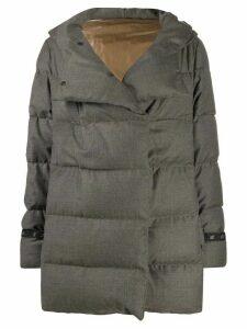 Eleventy padded puffer jacket - Grey