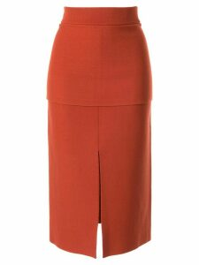 CAMILLA AND MARC Chandler knitted skirt - Brown
