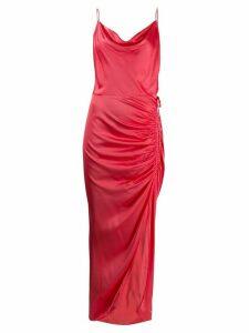 Veronica Beard gathered side dress - Pink