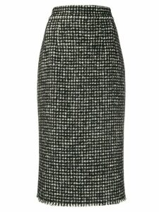 Dolce & Gabbana tweed pencil skirt - Black