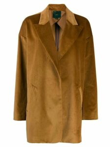 Jejia oversized swing coat - Brown