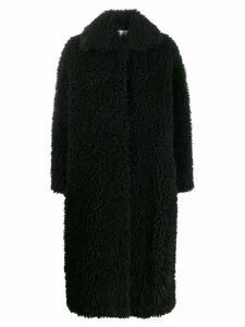 STAND STUDIO Leah teddy coat - Black