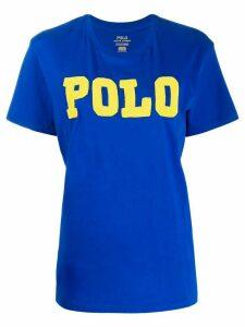 Polo Ralph Lauren embellished logo t-shirt - Blue