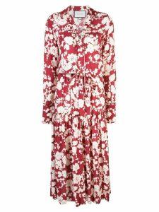 Alexis Ambrosia floral-print dress - Red