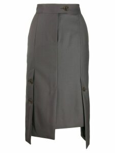 Eudon Choi Elsa asymmetric skirt - Grey
